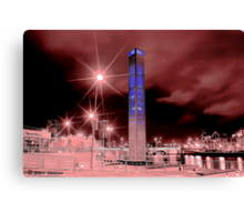 Cool Belfast Night Canvas Print