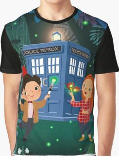 THE DOCTOR IN WHONDERLAND Graphic T-Shirt