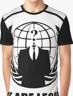 Anonymous - We Are Legion Graphic T-Shirt