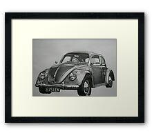 Classic VW Beetle Framed Print