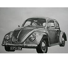 Classic VW Beetle Photographic Print