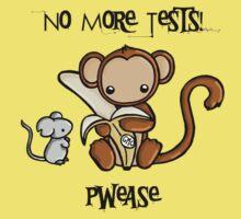 No More Animal Testing Kids Tee