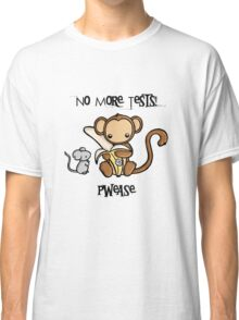 No More Animal Testing Classic T-Shirt