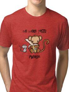 No More Animal Testing Tri-blend T-Shirt