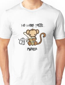 No More Animal Testing Unisex T-Shirt