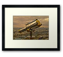 From The Eiffel Tower Framed Print