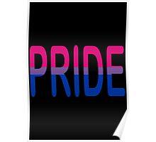 Bisexual Pride! Poster