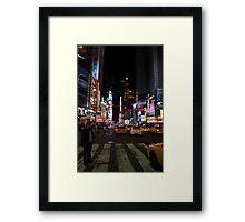 New York - Times Square Framed Print