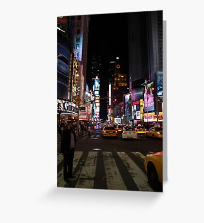 New York - Times Square Greeting Card
