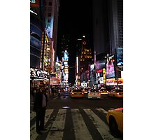 New York - Times Square Photographic Print