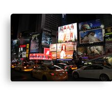 New York - Times Square Canvas Print
