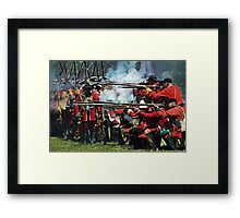 The Red Coats Framed Print