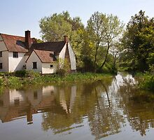 Willy lotts cottage by Ian Merton
