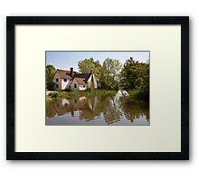 Willy lotts cottage Framed Print