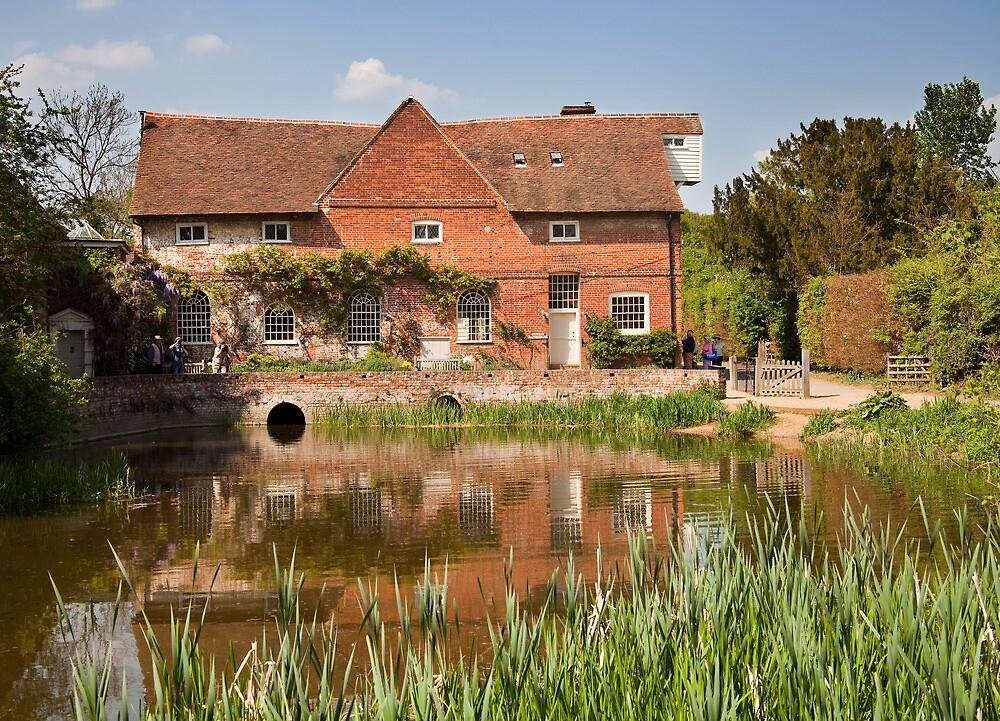 Flatford mill by Ian Merton