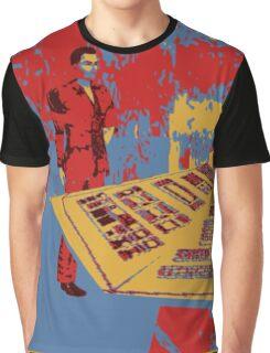 Christopher eccleston in tardis Graphic T-Shirt
