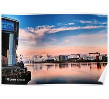Awesome Belfast Sunset Poster