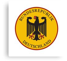 Bundesrepublik Deutschland, Cold War Sign, Germany Canvas Print