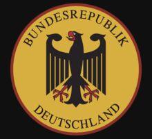 Bundesrepublik Deutschland, Cold War Sign, Germany Kids Clothes