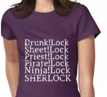 !Lock Womens Fitted T-Shirt