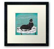 Anti-Plastic Seal Framed Print
