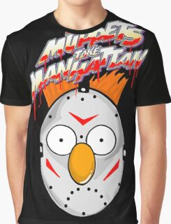 muppets beaker mashup friday the 13th Graphic T-Shirt