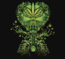Marijuana Love Tree T-Shirt
