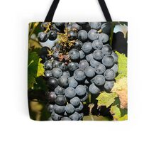 Cabernet Grapes on the Vine Tote Bag