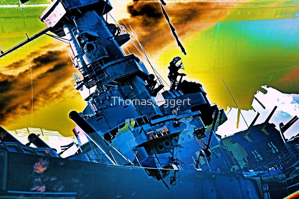 Twilight Zone ( USS Alabama ) by Thomas Eggert