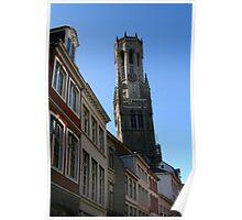 Bruges Tower Poster
