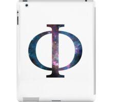 Phi Greek Letter iPad Case/Skin