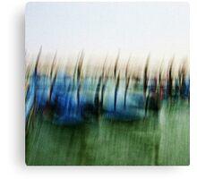 Gondole a Venezia Canvas Print