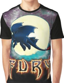 Toothless Dragon Night Fury Graphic T-Shirt