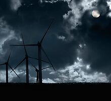 Wind Powered Energy by Andrew Bret Wallis