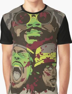 The Glorious Dead Present Zombies by Flatbush Graphic T-Shirt