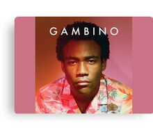 Childish Gambino Because the Internet Canvas Print