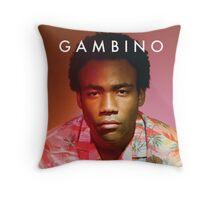 Childish Gambino Because the Internet Throw Pillow