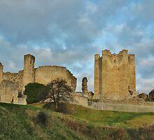 Conisbrough Medieval Castle by John Dunbar