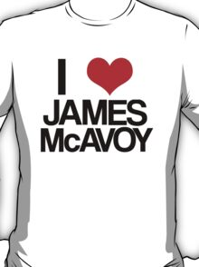 I Heart James McAvoy T-Shirt