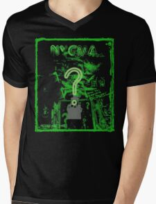 Nygma Graffiti Mens V-Neck T-Shirt