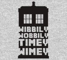 Wibbily Wobbily Timey Wimey Baby Tee