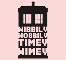 Wibbily Wobbily Timey Wimey Kids Clothes