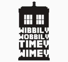 Wibbily Wobbily Timey Wimey Kids Tee