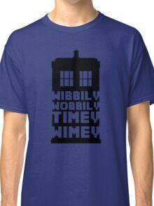 Wibbily Wobbily Timey Wimey Classic T-Shirt