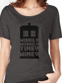 Wibbily Wobbily Timey Wimey Women's Relaxed Fit T-Shirt