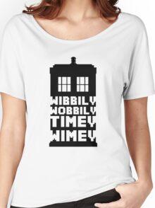 Wibbily Wobbily Timey Wimey Women's Relaxed Fit T-Shirt