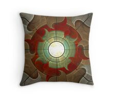 The Light Outside Throw Pillow