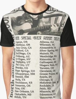 Molly Phillips Tour Poster - So Weird Graphic T-Shirt