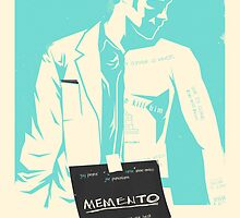 Memento Custom Poster by Edward B.G.