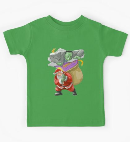 All I Want For Christmas Is A Misunderstood Monster Kids Tee